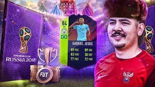 PATH TO GLORY GABRIEL JESUS IN A PACK!! 800K!! FIFA 18 Ultimate Team