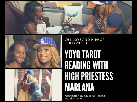 "VH1 LOVE AND HIP HOP HOLLYWOOD CAST MEMBER YOYO TAROT CARD READING ""GRACEFUL HEALING"""