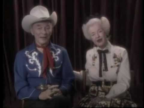 Roy Rogers & Dale Evans Biography - Happy Trails Theatre Feature HOME MOVIES