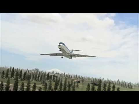 Southern Airways Flight 242 - Crash Animation