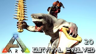 ARK: SURVIVAL EVOLVED - WERE SHARK & HATCHING
