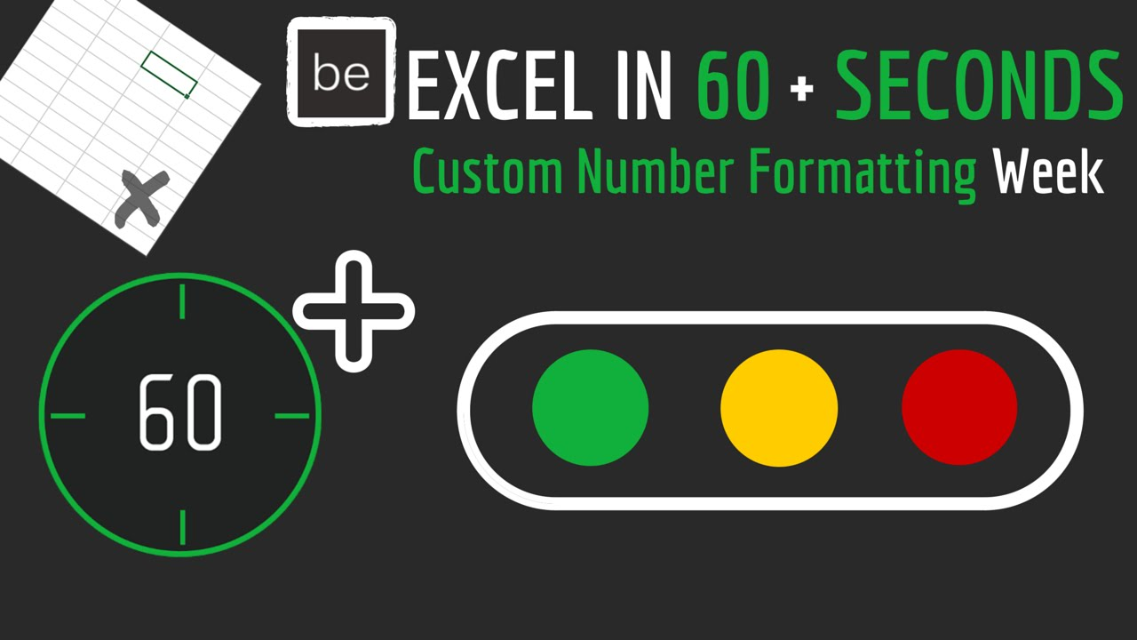 How to Use Icon Sets with Text Values in Excel - YouTube