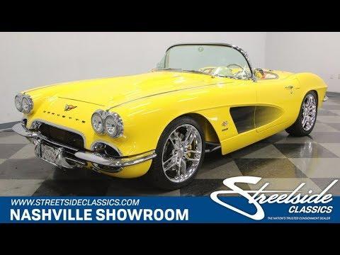 1962 Chevy Corvette Restomod For Sale | 1066-NSH