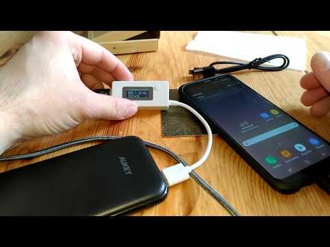 AUKEY PB-T18 Quick Charge 3.0 Powerbank 10000 mAh Schnell das eigene Handy oder  Tablet aufladen
