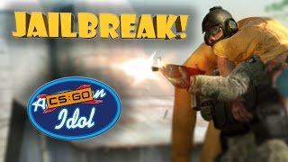 CS:GO IDOL! (CS:GO Jailbreak Funny Moments!)