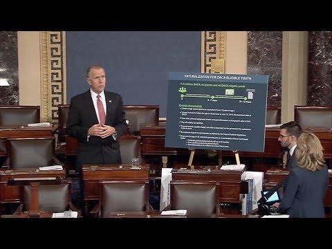 Senator Tillis Discusses Immigration Reform on Senate Floor