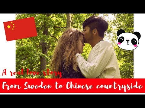 AMWF: FROM SWEDEN TO THE NORTH WEST CHINESE COUNTRYSIDE - LOVE STORY //瑞典女孩子去中国西北嫁给中国男孩子