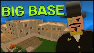 Unturned 3.0 Gameplay - Biggest Base Ever? - Unturned 3 Big House Building & Tour! (base Design)