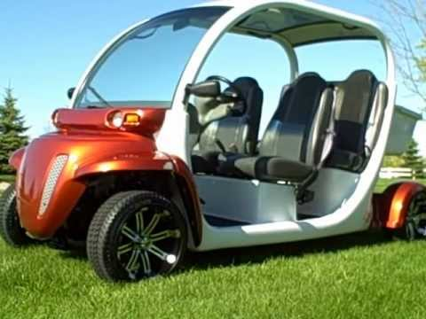 Gem Electric Car Golf Cart 72 Volt Many Upgrades Lsv Street Legal Nev