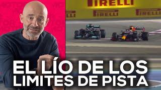Hamilton, Verstappen y el lío de los límites de pista | El Garaje de Lobato