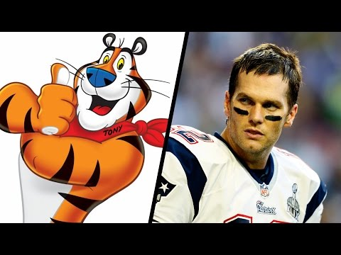 Tom Brady vs. Tony The Tiger - Celebrity Feuds
