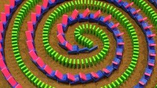 UNCONVENTIONAL Domino Tricks ! - Hevesh5 & Kaplamino