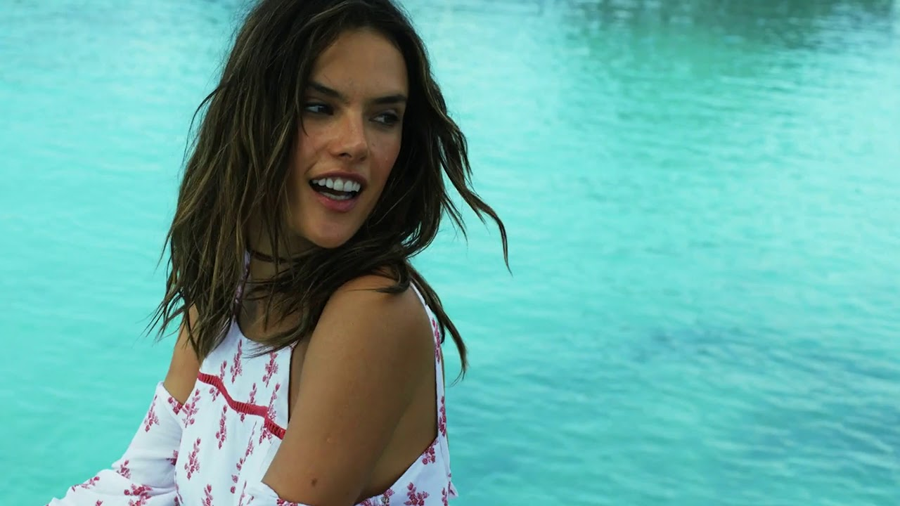 Desired Alessandra Ambrosio - I will be here Ft. Junior Paes(Remix)4K UHD