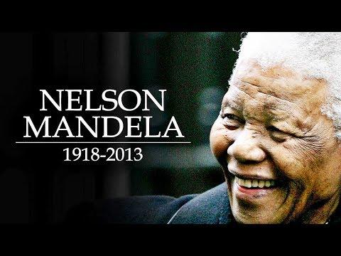 A Morte De Nelson Mandela - Relembre a Vida Do Líder Pela Igualdade Social