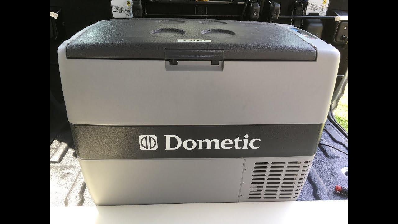 DIY Camper Van Conversion Life Dometic CF 50 Refrigerator 12V Battery Test