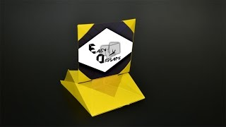 Origami: Picture Frame / Photo Frame - Instructions in English (BR)