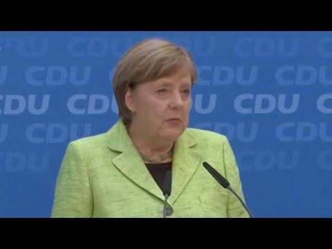 German election: Merkel's Christian Democrats win Saarland vote