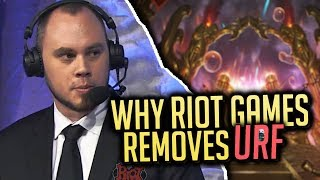 Why RIOT GAMES Removes URF