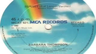 Barbara Thompson Sunset Full Version 1980
