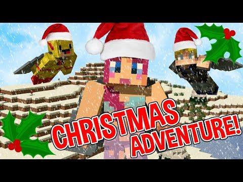 MINECRAFT CHRISTMAS ADVENTure   WORST ELYTRA MAP EVER!