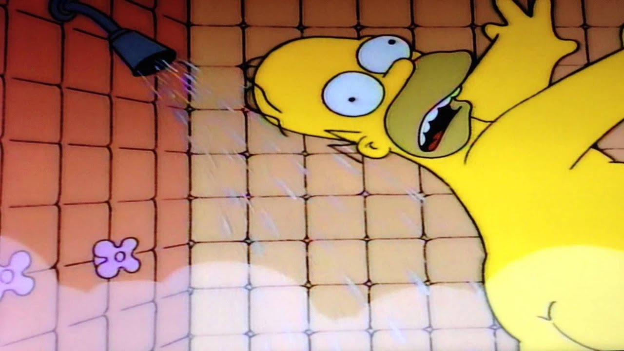 Marge naked in shower sex photo - Marge simpson nud ...