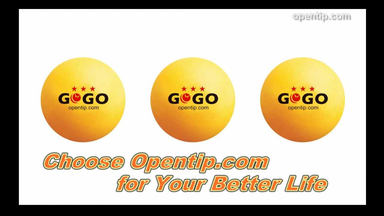 GOGO 3-Star 40mm Table Tennis Balls, Beer Pong/Beirut ...