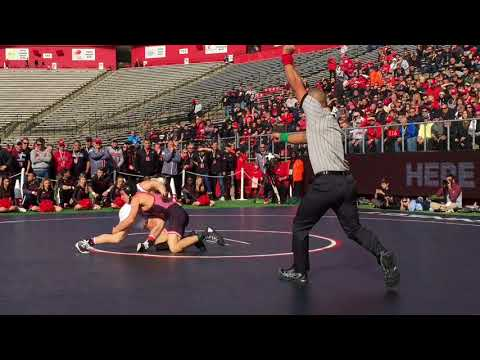 Nick Suriano wins Rutgers wrestling debut