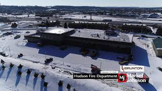 Hudson Fire Department Aerial 2.21.20