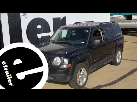 best 2011 jeep patriot trailer wiring options etrailer com youtube rh youtube com Jeep Patriot 4x4 Jeep Patriot Lifted