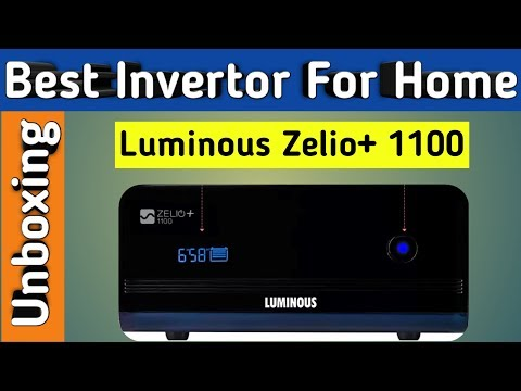 Luminous Zelio 1100 Invertor Installation   Luminous Zelio+ 1100 Pure Sine Wave Invertor
