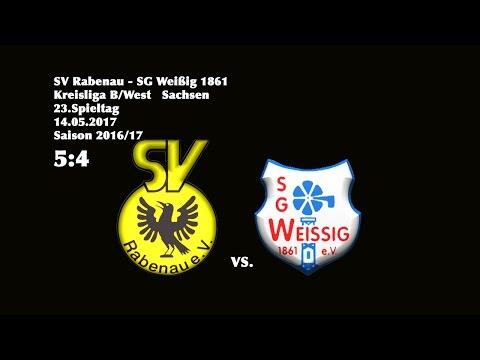 2017-05-14 / 23. Spieltag / Kreisliga B (West) / SV Rabenau-SG Weißig 1861
