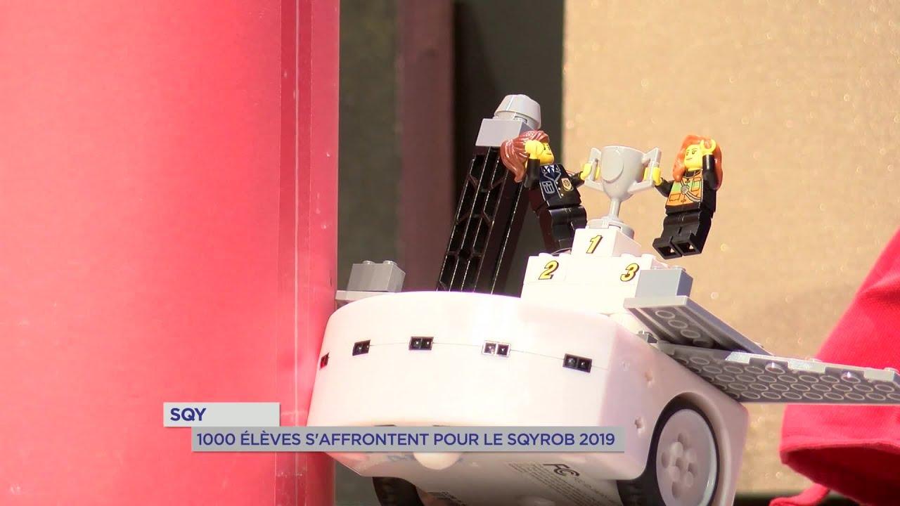 Yvelines | 1000 élèves s'affrontent pour le SQYROB 2019