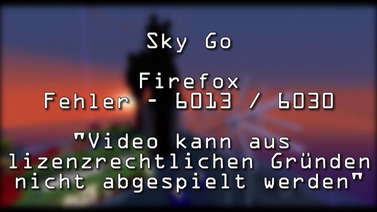 Sky Go Firefox