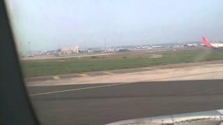 Go Air Take off from delhi airport.Vikas Kumar Sin