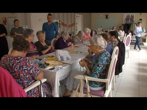 Elderly Day Care Centre users welcome the service provided