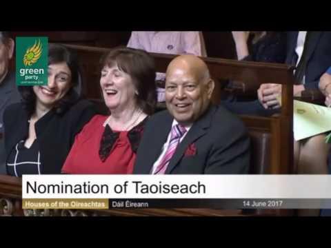 Eamon Ryan on Leo Varadkar's nomination to become Taoiseach