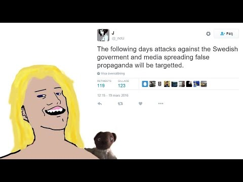Attack on Swedish Mainstream Media by Hackers. Why Swedish Media is Hated