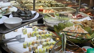 Party at the weekend at Sou Sou Buffet Suki Soup Restaurant in Cambodia