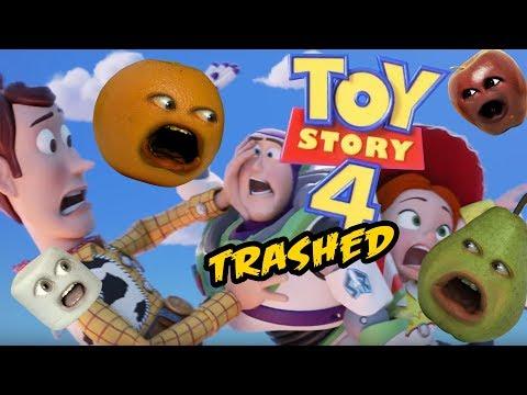 Annoying Orange - Toy Story 4 Trailer TRASHED!!