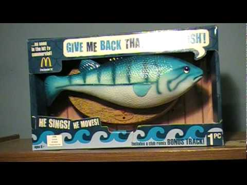McDonald's Frankie The Fish... Review