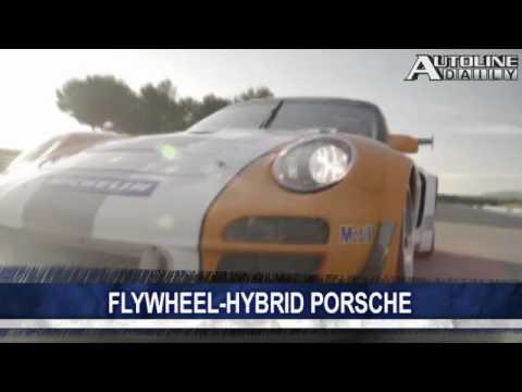 FlywheelHybrid Porsche Autoline Daily YouTube - Sports cars 394