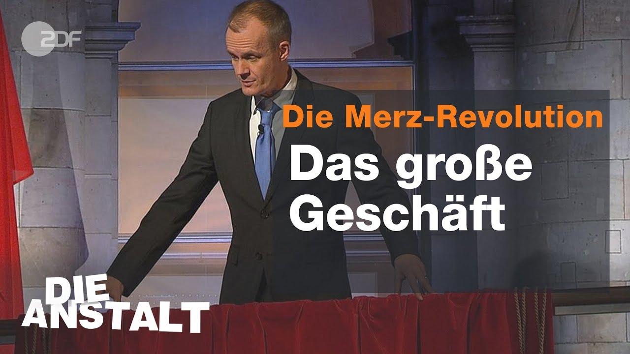 Balkonrede Merz - Die Anstalt vom 20.11.2018 | ZDF