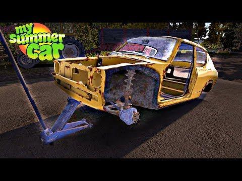 EMPIEZO A CONSTRUIR EL COCHE ⭐️ My Summer Car #4 | iTownGamePlay