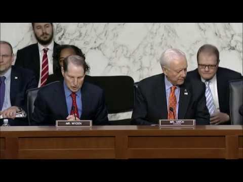 Senate Finance Committee Markup of the Tax Cuts and Jobs Act