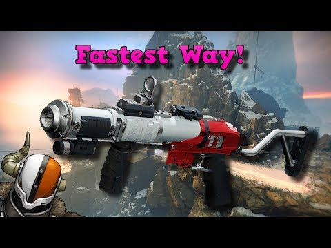 DESTINY 2: The Fastest Way to Get the Mountain Top Pinnacle Grenade Launcher! | Competitive Guide