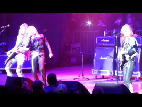 Queens of Noise by LitaFord with Cherie Currie(mini Runaways reunion) at M3 Festival 4/25/2014
