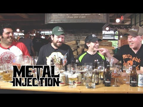 Beer Tasting w/ Richard Christy Of CHARRED WALLS OF THE DAMNED | Metal Injection