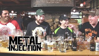 Beer Tasting W Richard Christy Of CHARRED WALLS OF THE DAMNED Metal Injection