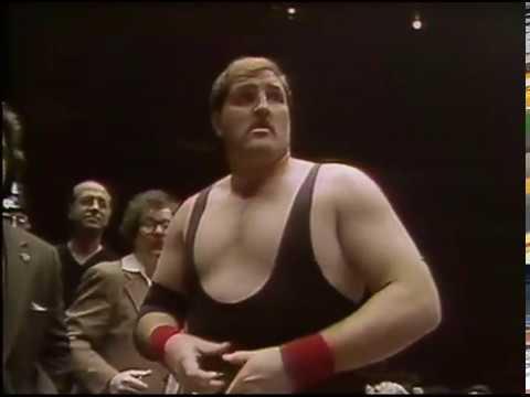 WWF MSG Greatests Wrestling Matches Bob Backlund vs. Stan Hanson Cage Match 4/6/81