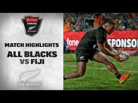 HIGHLIGHTS: All Blacks v Fiji (Hamilton 2021)